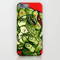 iPhone & iPod Case featuring Raph's Last Stand by WinterArtwork