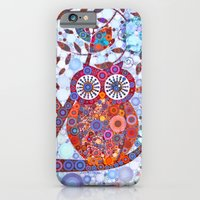 If Klimt Painted An Owl :) Owls are darling birds! iPhone 6 Slim Case
