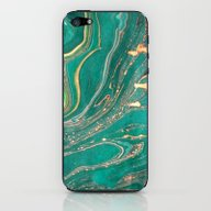 Ocean Gold iPhone & iPod Skin