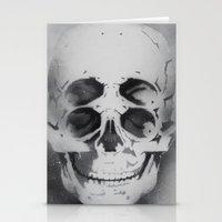 The 4i Skull Stencil Art… Stationery Cards