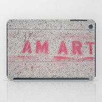 I Am Art iPad Case