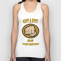 Fist of pure emotion  Unisex Tank Top