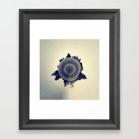 Blended Atmosphere Framed Art Print