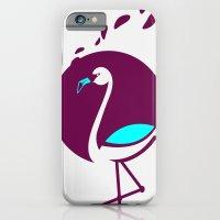 iPhone & iPod Case featuring Flamingo by alexGrigoras