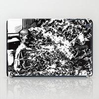Burning Monk iPad Case