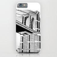Brooklyn Bridge Black An… iPhone 6 Slim Case