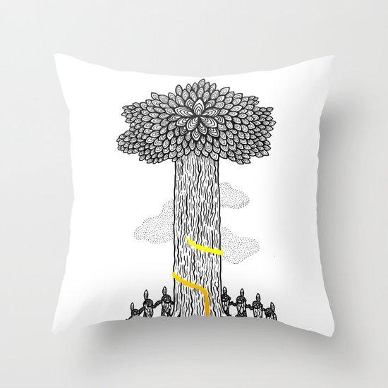 Tree Friends, pt.1 Throw Pillow