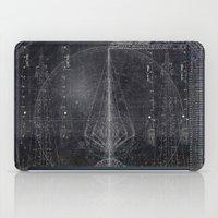 Vertical Scheme iPad Case