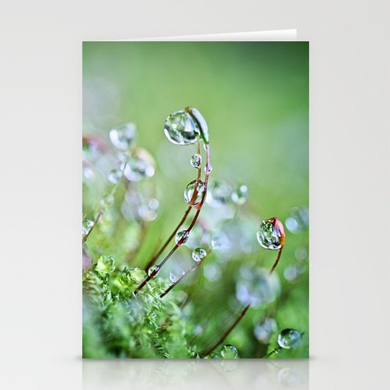 When you hear the fairies sing, you'll know you found my secret hiding place... Stationery Card