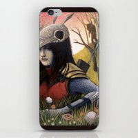 Armadillo Girl iPhone & iPod Skin