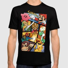 Dairanto Smash Bros Mens Fitted Tee SMALL Black