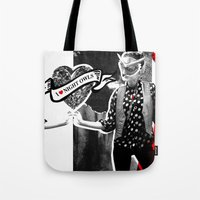I ❤ NIGHT OWLS Tote Bag