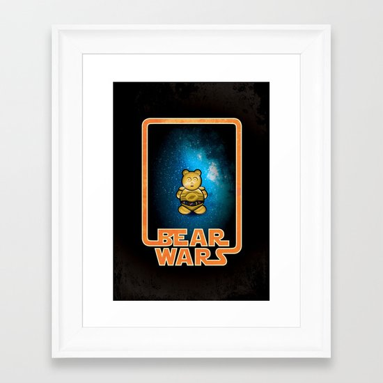 Bear Wars - G3PU Framed Art Print