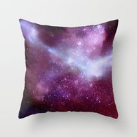 A Night Without Lights Throw Pillow
