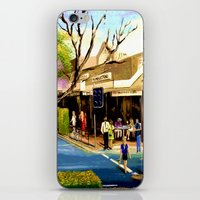 Sidewalk Cafe iPhone & iPod Skin