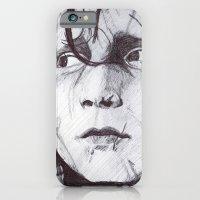 iPhone & iPod Case featuring Edward Scissorhands   by DeMoose_Art