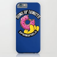 iPhone & iPod Case featuring Sons Of Donuts / Simpsons / Donuts by Adrien ADN Noterdaem
