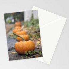 Pumkin Row Stationery Cards