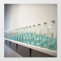 Rollei Bottle Canvas Print