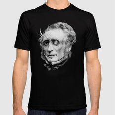 The Corrupted Man Mens Fitted Tee SMALL Black