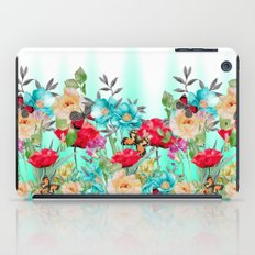 Butterflies and Flowers iPad Case
