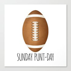 Sunday Punt-day Canvas Print