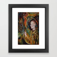 GUIDED BY THE UNIVERSE Framed Art Print