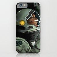 iPhone & iPod Case featuring Interstellar by Joe Tin Illustration