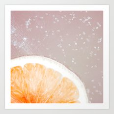 Grapefruit Citrus Art Print