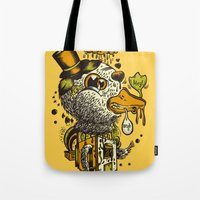 A Disorientated Duck Goe… Tote Bag
