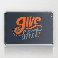 Give a Shit. Laptop & iPad Skin