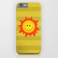 Smiling Happy Sun iPhone 6 Slim Case