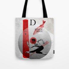 Non-symmetrical Dance Tote Bag