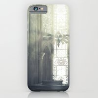 iPhone Cases featuring Zelda Cathedral #2 by Whitney Brown