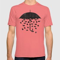 uncertainty Mens Fitted Tee Pomegranate SMALL