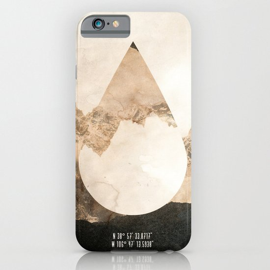 Longitude/Latitude iPhone & iPod Case