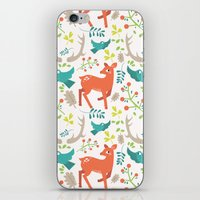 Forest Animals iPhone & iPod Skin