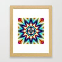 Bright Star Framed Art Print