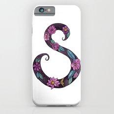 Floral S iPhone 6s Slim Case