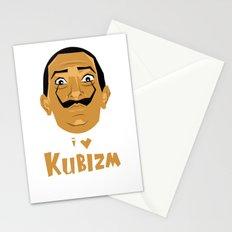 I Love Kubizm Stationery Cards