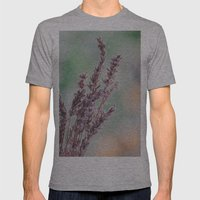 Lavender By The Window Mens Fitted Tee Athletic Grey SMALL
