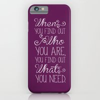 iPhone & iPod Case featuring The Princess and the Frog by Typequotsters