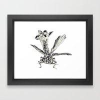 Fly fly fly Framed Art Print