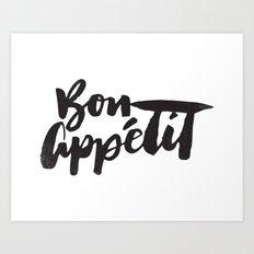 Bon Appétit Art Print