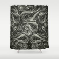 Portal I. Shower Curtain