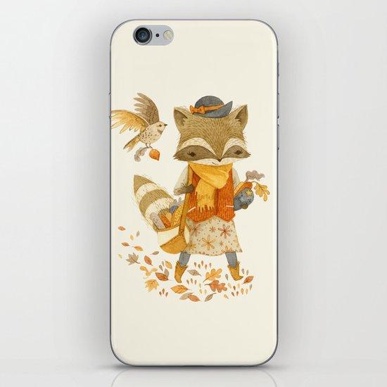 Rebecca the Radish Raccoon iPhone & iPod Skin