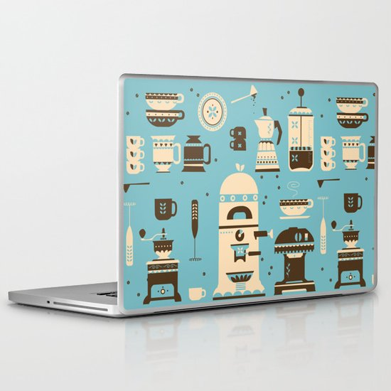 Coffee Paraphernalia   Laptop & iPad Skin