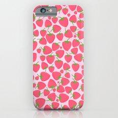 Strawberry Sweet Minis - Pink Slim Case iPhone 6s