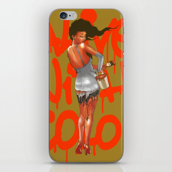 Alive with Color iPhone & iPod Skin