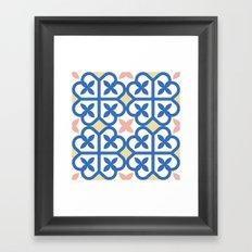Floor Tile 3 Framed Art Print